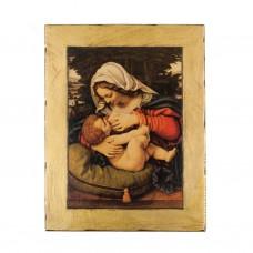 Obraz/Ikona Matka Boża Karmiąca 13 x 17 cm