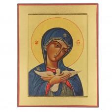 Obraz/Ikona Maryja Oblubienica Ducha Świętego 13 x 17 cm