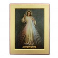 Obraz/Ikona Jezu Ufam Tobie 13 x 17 cm