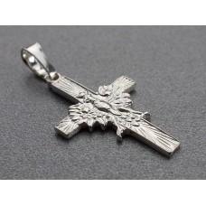 Krzyżyk srebrny z orłem