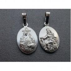 Medalik srebrny Szkaplerz Karmelitański
